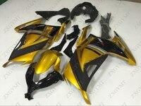 Fairing Kits EX300 2013 2015 Gold Black Abs Fairing Zx300r 2013 Fairing Zx300r 2013