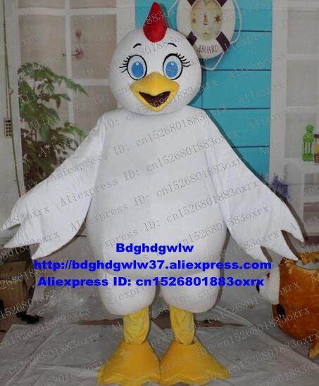Cock Hahn Henne Küken Huhn Chook Chickling Maskottchen Kostüm Erwachsene Cartoon Charakter Jemand Im Kopf Sehr Große Zx2832 HüBsch Und Bunt