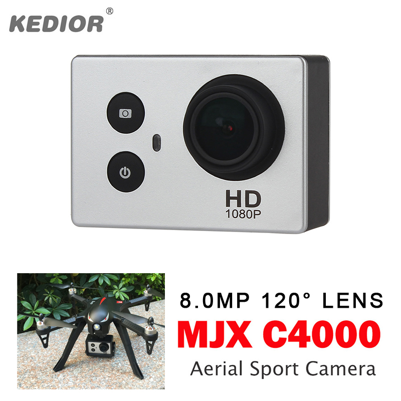 MJX C4000 Aerial Sport Camera 8.0MP 120 Degree Lens Full HD 1080P Quadcopter Spare Parts for X102H MJX B3 Bugs 3 B3H BUGS 3H 3pcs battery and european regulation charger with 1 cable 3 line for mjx b3 helicopter 7 4v 1800mah 25c aircraft parts