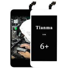 ФОТО 50pcs china replacement wholesale repair parts for iphone 6 plus lcd screen display and digitizer assembly+cameral