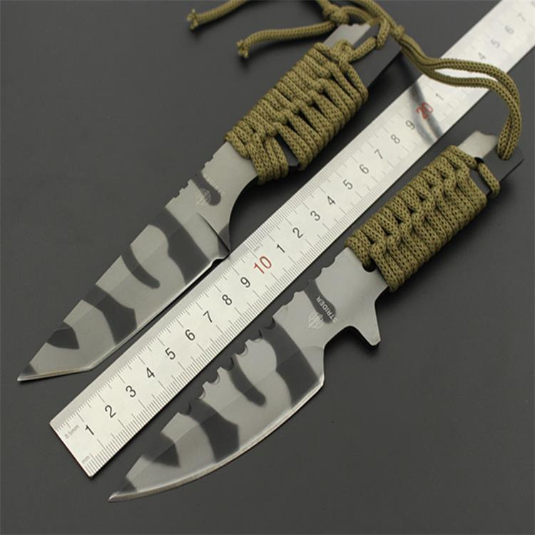 Stainless steel font b knife b font straight font b knife b font straight diving font