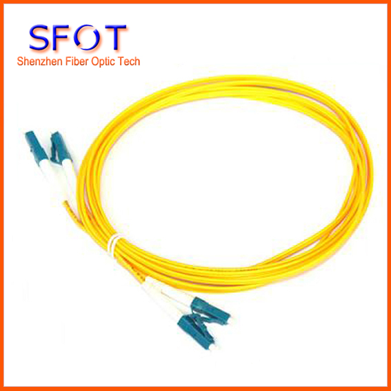 Patch cord cables LC/UPC-LC/UPC Singlemode 9/125 Patchcord duplex PVC 2mm 3M Free Shipping