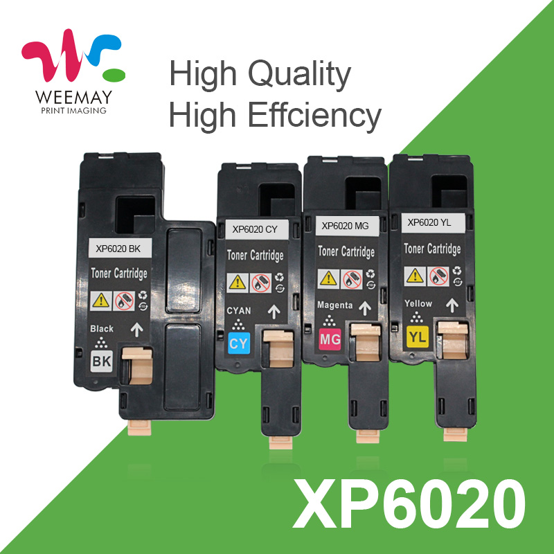 Toner Cartridges Compatible Fuji Xerox Phaser 6020 6022 Workcentre 6025 6027 for Xerox 106R02759 106R02756 106R02757
