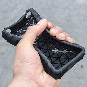 Image 4 - Anti Skid sağlam darbeye dayanıklı zırh tam koruyucu deli kılıf kapak için Sony Walkman NW WM1A WM1A NW WM1Z WM1Z toz fişi ile