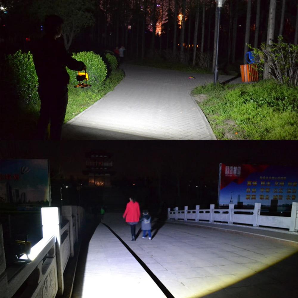 Projectores Portáteis de inundação portátil segurança ultra Mode : 3 Modes, Bright Light, Low Light, Strobe