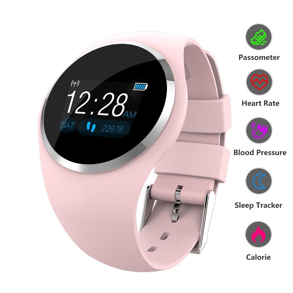 Smart Watch Smart Band Fitness Bracelet Color Screen Women Watch Heart Rate Blood Pressure Smart Wristband