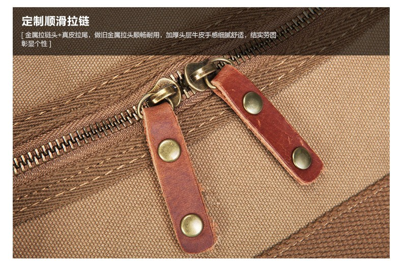 a84841ac2f8 High Quality Multifunctional Heavy Duty Canvas Travel Bags Large ...