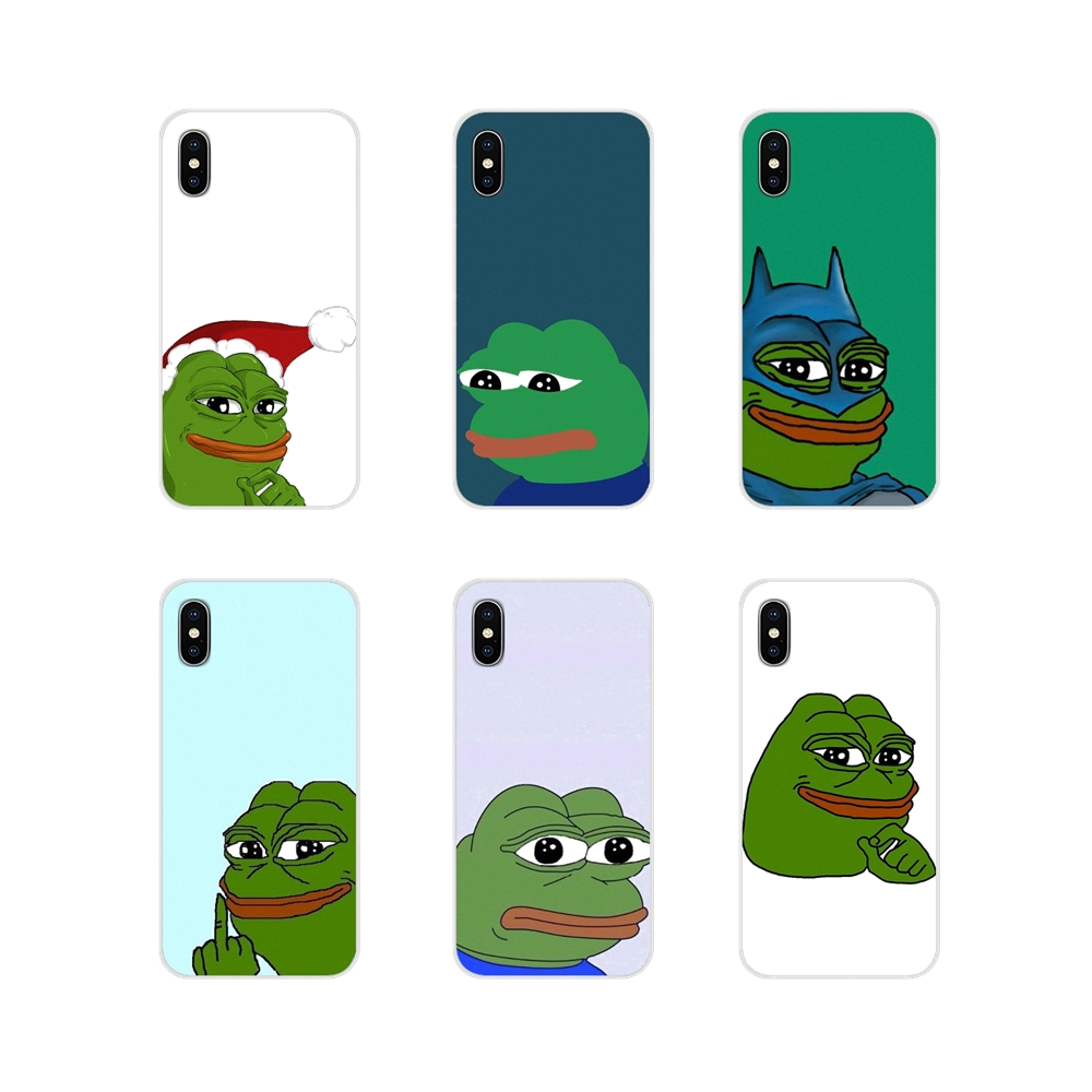 Memes Sad Frog Accessories Phone Shell Covers For Samsung Galaxy J1 J2 J3 J4 J5 J6 J7 J8 Plus 2018 Prime 2015 2016 2017 image
