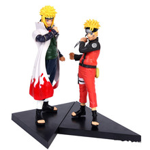 16CM Japanese Anime Naruto Garage Kits Yondaime Hokage Namikaze Minato Gaara Deidara Action Figures with gift box for chirldren
