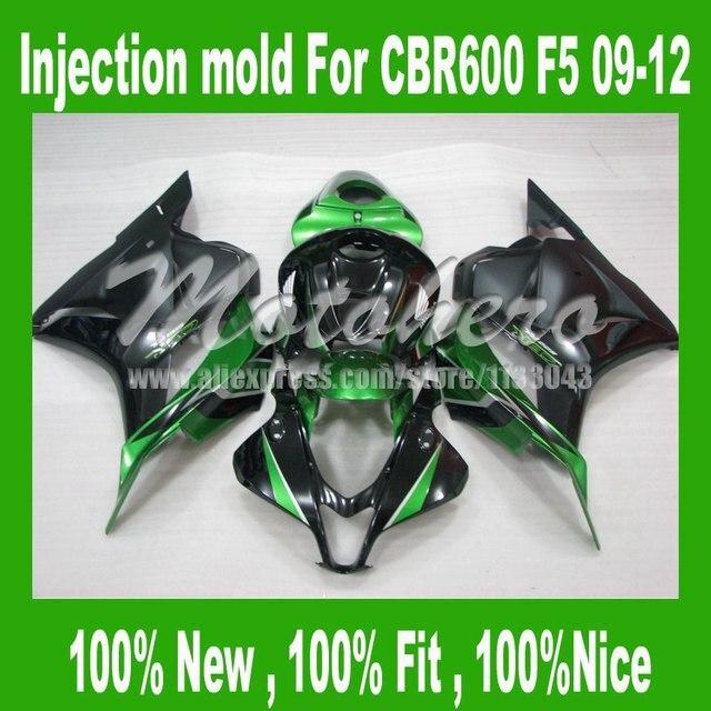 Green black CBR600RR F5 Fairings for HONDA CBR600 F5 2009 2010 CBR600 RR 09 10 CBR 600 RR 09 10 11 12 fairing kits #sd698ll