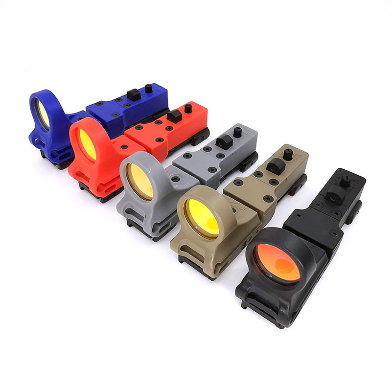 SOTAC-GEAR Tactical Red Dot Sight EX 182 SeeMore Railway Reflex Sight C-MORE Red&Green Illumination  Fits 20mm Rails For Airsoft