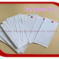 100pcs/lot New Screen Protector Guard Protective Film film OEM For iPhone 6 6G 6S 4.7inch only front screen