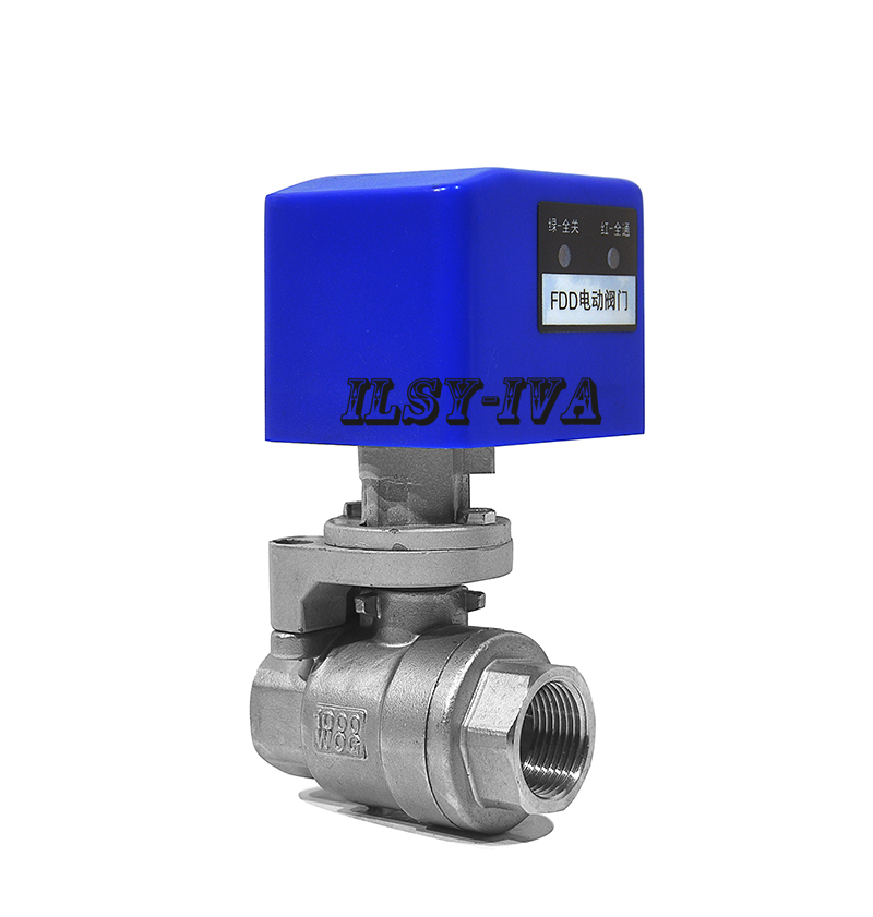 DC12V/DC24V Stainless steel G3/4 2 way electric ball valve CR03/CR04