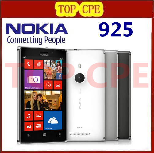Nokia Lumia 925 Refurbished Original Windows Mobile Phone 4 5 8MP WIFI GPS 3G 4G GSM