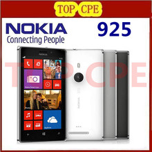 "Nokia Lumia 925 Refurbished Original Windows Mobile Phone 4.5"" 8MP WIFI GPS 3G&4G GSM 16GB internal Storage 1 Year warranty"