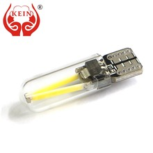 KEIN 6000k T10 w5w Bulb 194 car led Filament COB Glass Interior Tail Rear fog Bulb Reading Signal Parking Lamp White for honda(China)