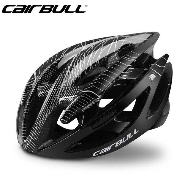 2018 cairbull capacetes de bicicleta capacete de bicicleta de montanha de estrada integralmente moldado capacetes de ciclismo 1
