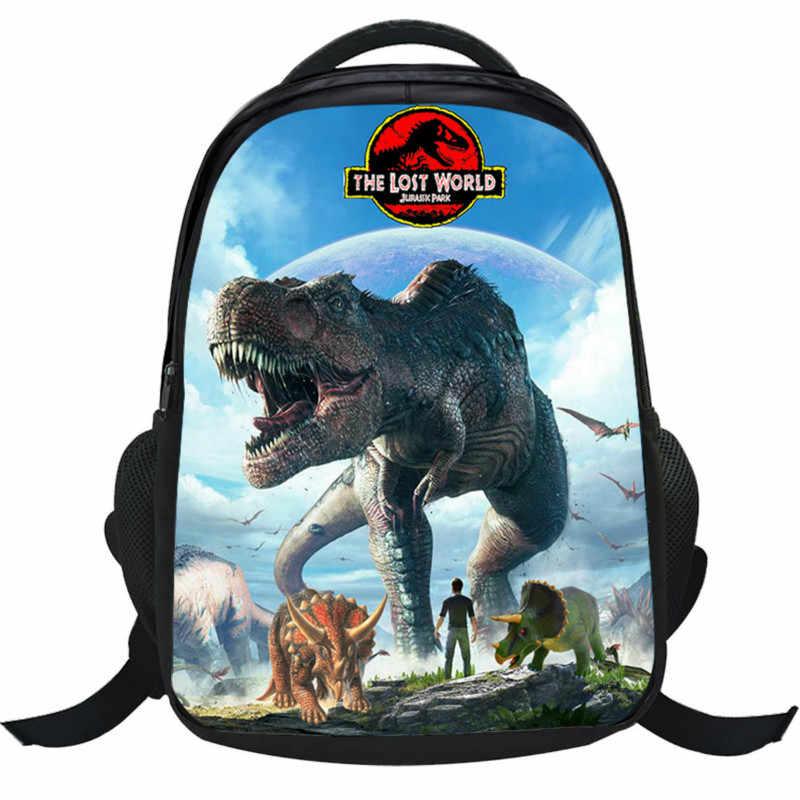 Рюкзаки с динозавром, водонепроницаемые детские школьные сумки с принтом животных, школьный рюкзак для мальчиков, школьный рюкзак для начальной школы, рюкзак Mochila Infantil на молнии