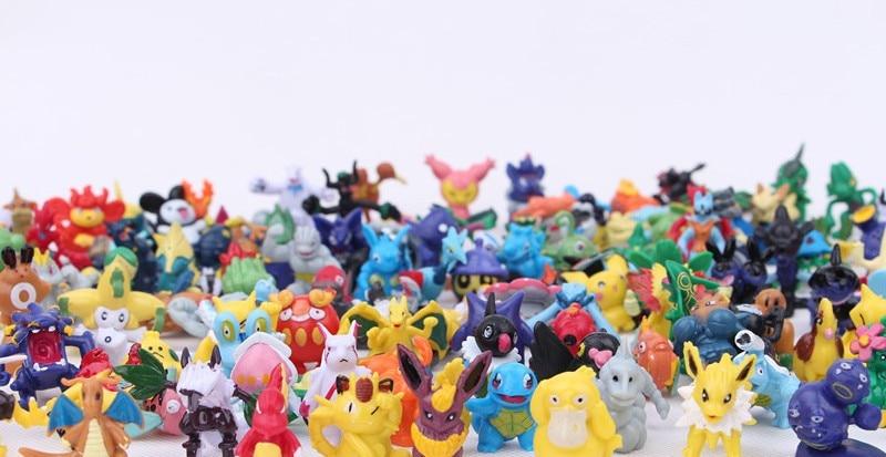 24pcs Mini Pokemon Figures 11