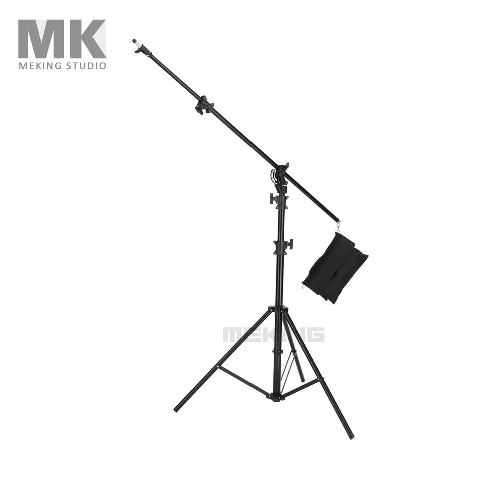 5 m Light Stand Statief Zware Verlichting Boom stand Photo studio ondersteuning systeem Voor Foto Studio Video Flash Paraplu weerspiegelen-in Accessoires voor fotostudio's van Consumentenelektronica op  Groep 1