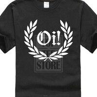 2017 новейший ой! Лорел-Camiseta-панк Рок Skinhead Resistente-& Colores 3D печать мужские футболки 100% хлопок короткий рукав тройник