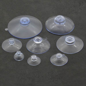 Suckers-Hooks-Hanger Suction-Cups Mushroom-Head Window-Decoration Car-Glass Clear Strong-Vacuum