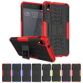 13566ca9527 Funda para teléfono inteligente para HTC Desire 530 funda armadura a prueba  de golpes funda para HTC Desire 630/Desire 530 TPU Capa casos