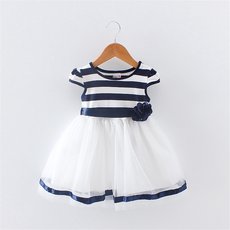 BibiCola Summer Baby Girl Dress Toddler Girls clothes infant Princess Tutu Dresses Baby Girls Party Dress baby birthday dress недорго, оригинальная цена