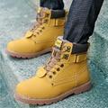 Homens sapatos ankle boots 2016 New Arrivals PU Além de veludo quente Botas de inverno