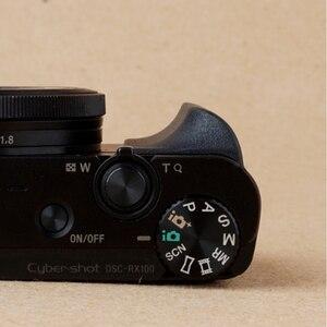 Image 5 - 소니 RX100 RX100II RX100III M4 M5 RX100M6 Rubbery 그립 3M 스티커 가방 카메라 액세서리 용 미끄럼 방지 그립 홀더