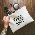 ShengBaoLi 3D Impressão Make Up Bag Necessaire Mulheres Maleta de Maquiagem Cosméticos Sacos de Viagem Organizador Bolsa de Maquiagem