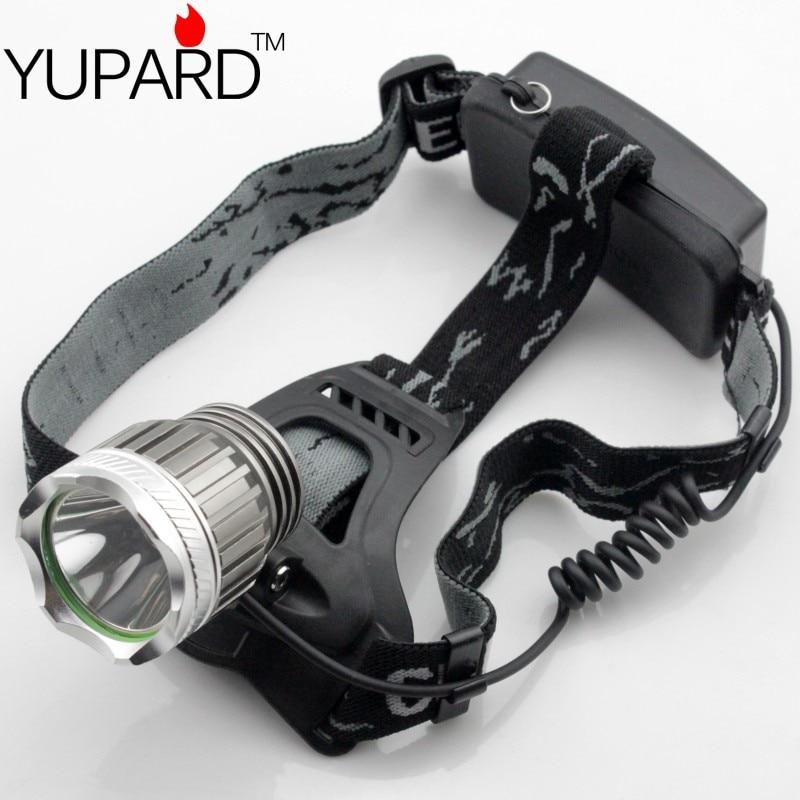 YUPARD XM-L XM-L2 LED-forlygte Genopladeligt forlygte T6 LED 18650 genopladeligt batteri camping fiskeri udendørs sport jagt