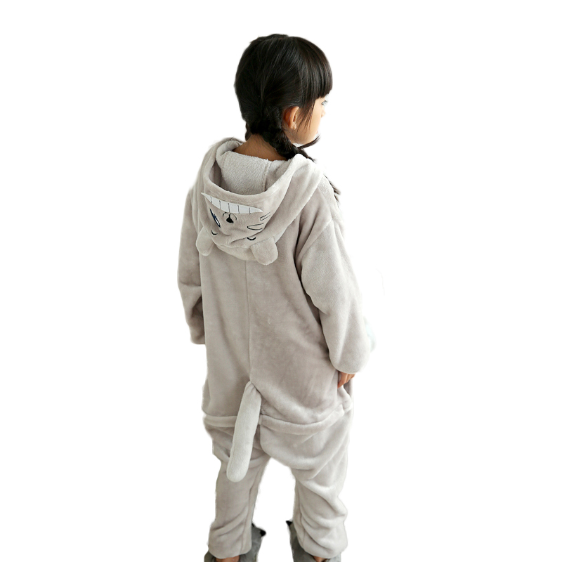 Winter-Baby-boys-sleepwear-Totoro-christmas-pajamas-for-girls-Flannel-Animal-Pajamas-Kid-warm-Pajama-sets (1)