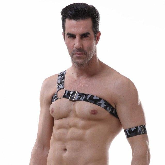 Men Sexy Underwear Couple Matching Clothing Lacing Vest Gay Bikini Underwear Exotic Lingerie Gay Wear Bondage Physical Exercise 4