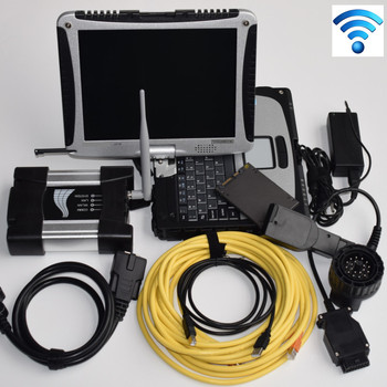 Top For bmw diagnostic scanner for bmw icom next with wifi and software SSD expert mode with laptop cf-19 programming tool