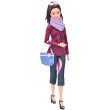 Fashion Clothes Set for  Barbie Doll Accessories Play House Dressing Up Costume Kids Toys Gift