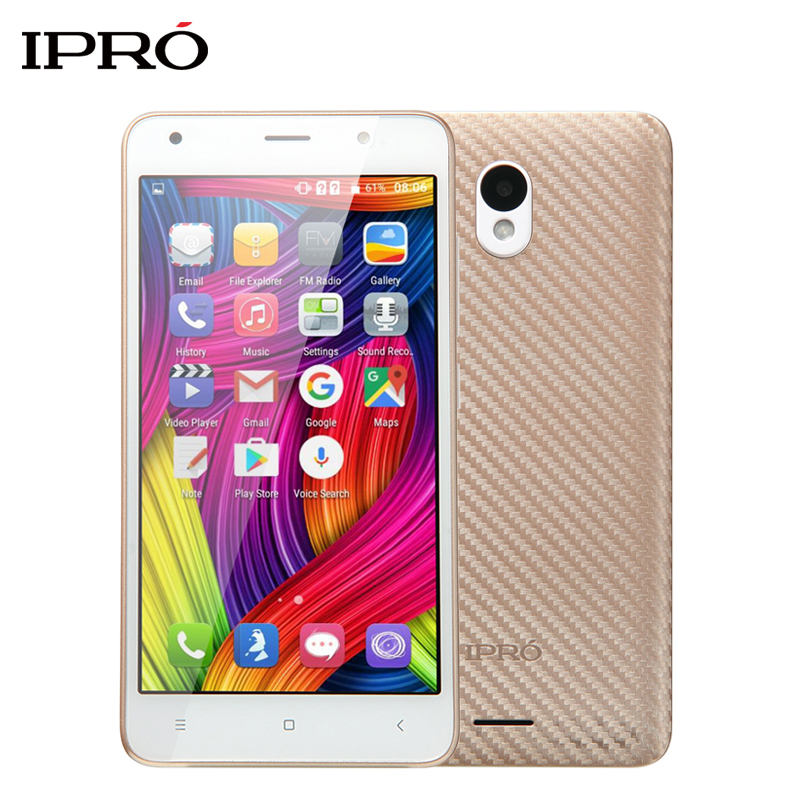 Цена за Оригинал IPRO ВОЛНА 5.0 дюймов I950G Dual SIM Карты Смартфон Celular Android 6.0 GSM/WCDMA 2000 мАч Батареи Разблокирована мобильный Телефон