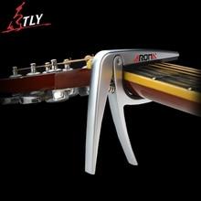 Aroma de la aleación de aluminio capo exclusivo para cuerdas de guitarra clásica de alta calidad cojín de silicona proteger guitarra capo