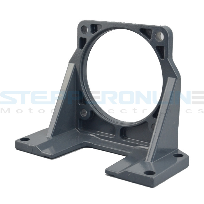 NEMA 34 Geared Stepper Motor (Spur Gearbox) 104mm Alloy Steel Mounting Bracket for Spur Gear Stepper сникеры nike сникеры wmns nike court borough mid