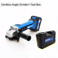 380W 36V Charging Cordless Electric Angle Grinder Polisher Machine 11000r/min 100mm 4'' Power Tools Cutting & Polishing Matal