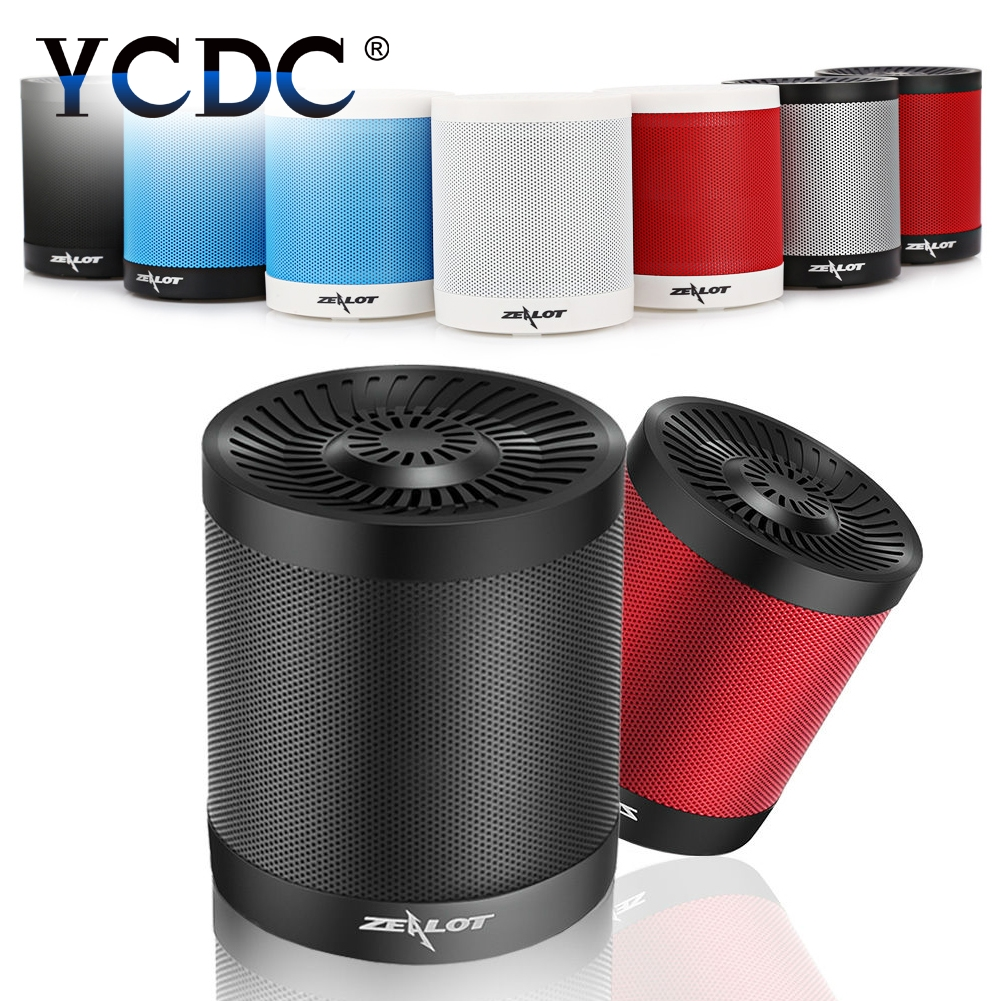 Wireless +Call+Mic 2000mAh Cell Portable Speaker Flash Disk Outdoor USB Disk/TF Card/AUX Music Player+Mic Bluetooth 4.0 Speaker