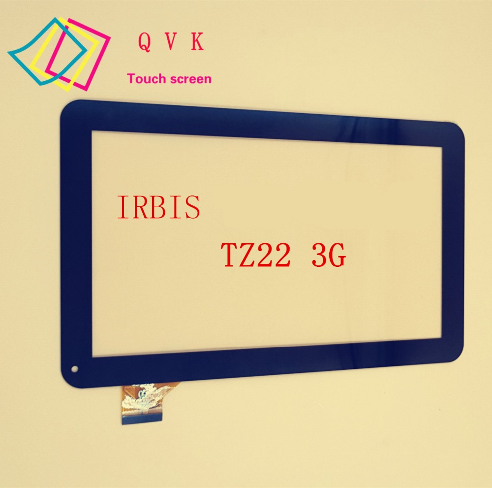 Black For IRBIS TZ21 TZ22 3G 10.1inch Tablet Pc Capacitive Touch Screen Panel Digitizer Glass Free Shipping