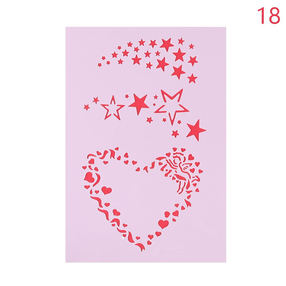 Heart wall stencil image collections home wall decoration ideas online shop 1pc christmas flower template layering stencils for online shop 1pc christmas flower template layering amipublicfo Gallery