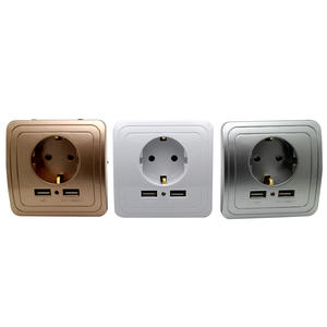 Adapter Socket Power-Outlet-Panel Wall-Charger Electrical-Plug Best Eu-Standard Smart-Home