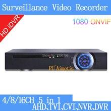 H.264 HDMI 1080P 2mp CCTV Camera 1080N 8 Channel 8CH/4CH/16CH Surveillance Video Recorder Hybrid Coaxial 5 in 1 TVI CVI NVR AHD