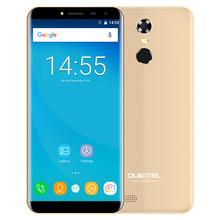 OUKITEL C8 3G Smart Phone 5.5 inch 2.5D Arc Screen Android 7.0 MTK6580A 1.3GHz Quad Core 2GB 16GB Fingerprint 8.0MP Rear Camera