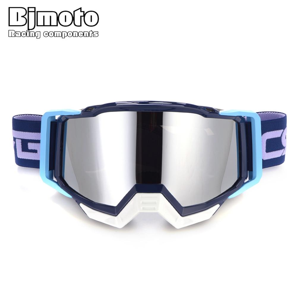 BJMOTO Motocross Goggles Sports Skate Ski Snow Goggles Snowboard Motorcycle Eye-wear Bike Atv Racing Glasses Protection