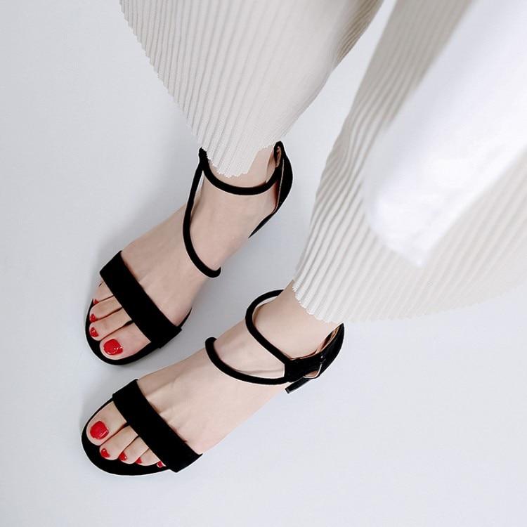 12 Moyens Femme Noir Ruban Chaussures Ivoire Sandales Été Rose zVqpUMS