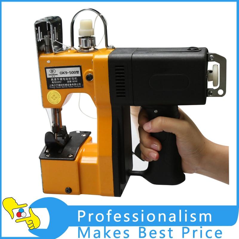 Gun-type Portable Electric Sewing Machine GK9-500 Sealing Bag machine 220V taiwan 100 ma adcsy 19 35 pneumatic sealing machine sealing paper nail nailing gun sealing machine packing machine
