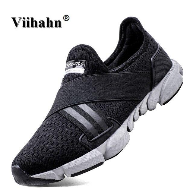 cced2ee9049 Viihahn 2017 Nouvelles Chaussures de Sport pour Hommes Printemps Et D été  Respirant Maille Loisirs